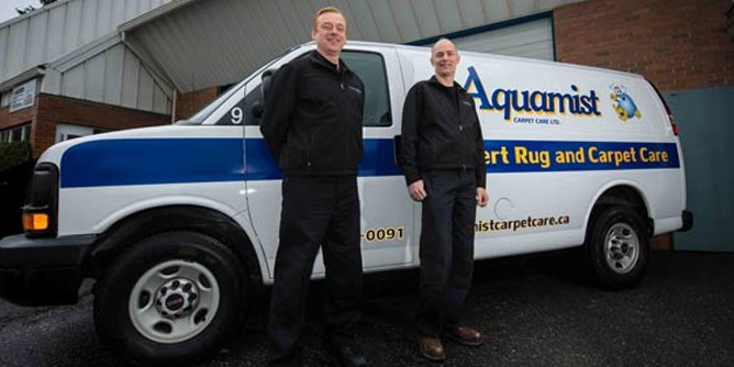 Aquamist Carpet Care Services in Victoria